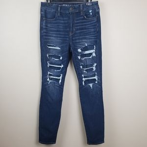 American Eagle Hi-Rise Jeggings 10